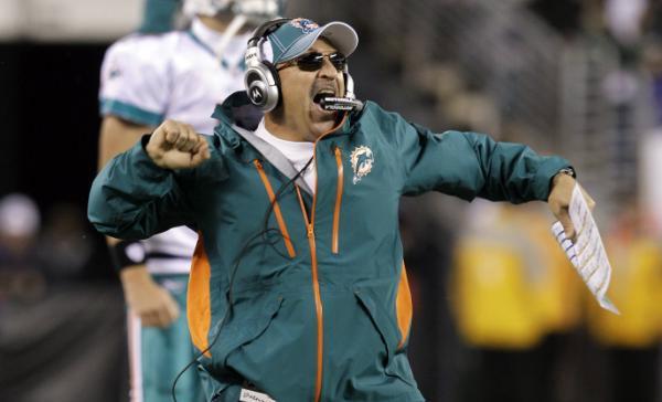 Tony Sparano miami dolphins coach